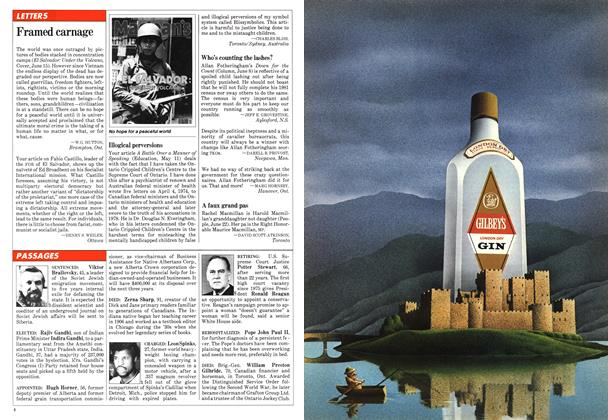 Article Preview: LETTERS, June 1981 | Maclean's