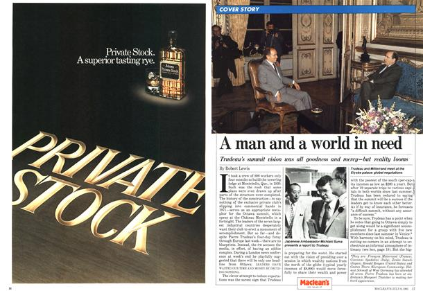 Article Preview: A man and a world in need, JULY 6,1981 1981 | Maclean's