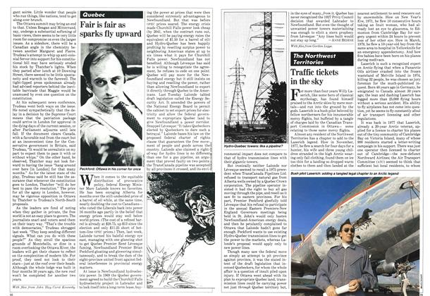 Article Preview: Fair is fair as sparks fly upward, JULY 6,1981 1981 | Maclean's