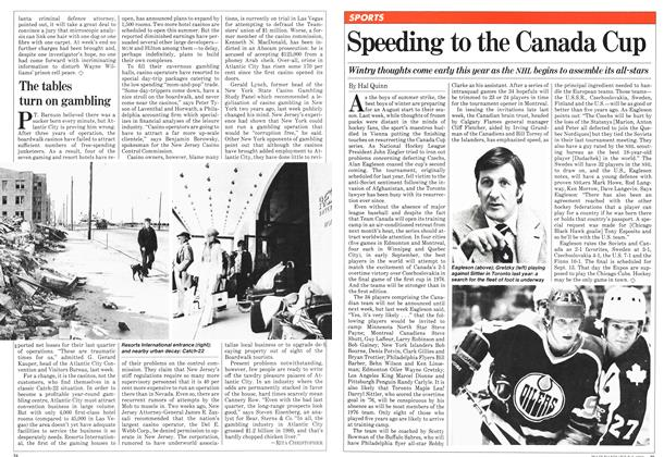 Article Preview: Speeding to the Canada Cup, JULY 6,1981 1981 | Maclean's