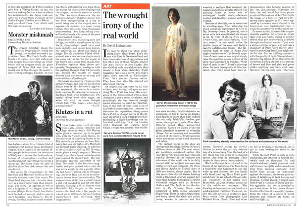 Article Preview: The wrought irony of the real world, JULY 6,1981 1981 | Maclean's