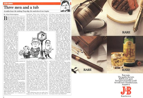 Article Preview: Three men and a tub, JULY 6,1981 1981 | Maclean's