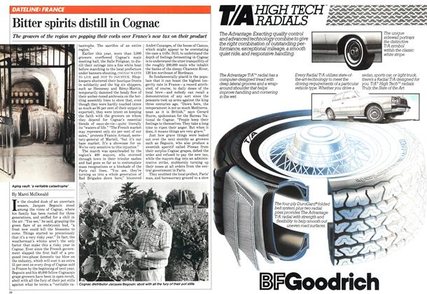 Article Preview: Bitter spirits distill in Cognac, JULY 6,1981 1981 | Maclean's