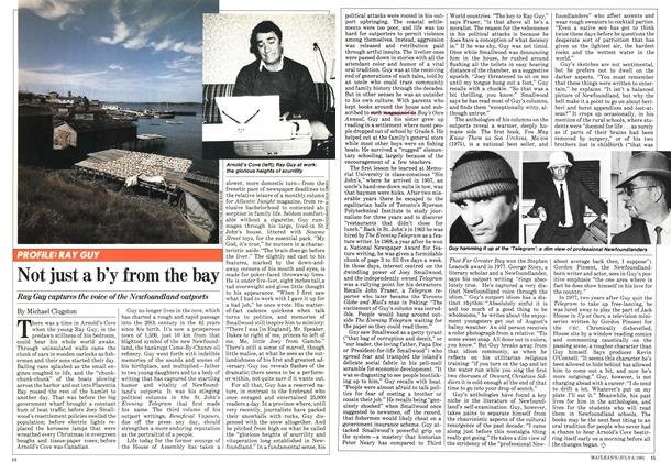 Article Preview: Not just a b'y from the bay, JULY 6,1981 1981 | Maclean's