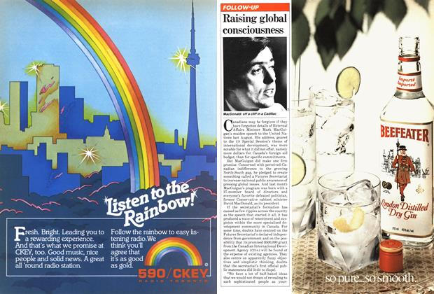 Article Preview: Raising global consciousness, July 1981 | Maclean's
