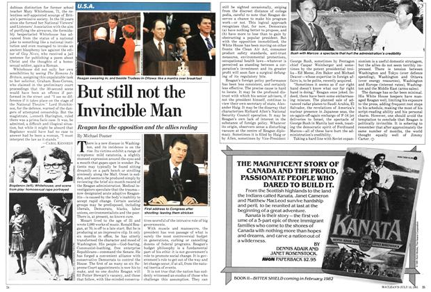 Article Preview: But still not the Invincible Man, July 1981 | Maclean's