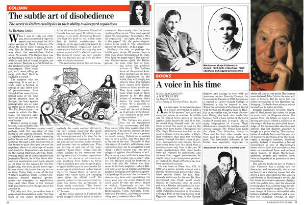 Article Preview: A voice in his time, July 1981 | Maclean's