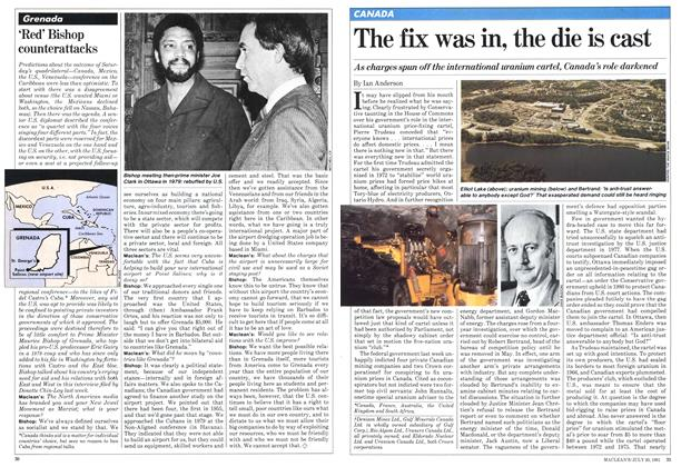 Article Preview: The fix was in, the die is cast, July 1981 | Maclean's