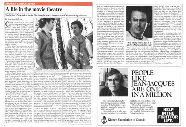Article Preview: A life in the movie theatre, July 1981 | Maclean's