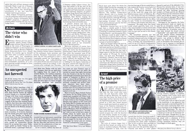 Article Preview: The high price of a promise, JULY 27,1981 1981 | Maclean's
