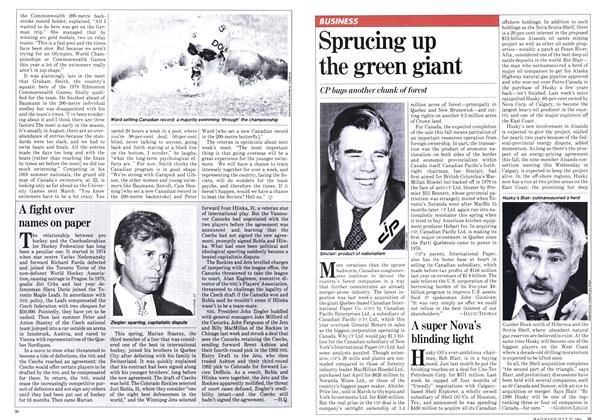 Article Preview: A super Nova's blinding light, JULY 27,1981 1981 | Maclean's