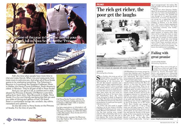 Article Preview: The rich get richer, the poor get the laughs, JULY 27,1981 1981 | Maclean's