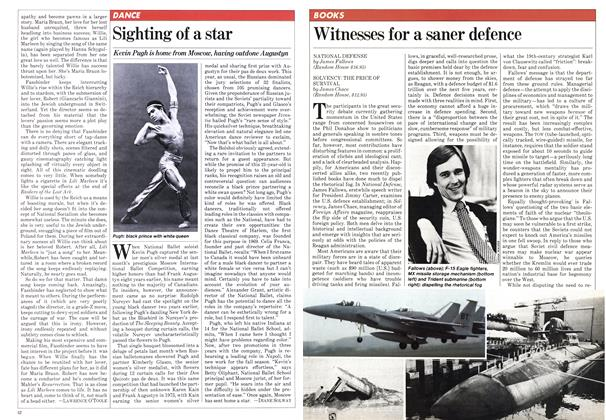 Article Preview: Witnesses for a saner defence, JULY 27,1981 1981 | Maclean's