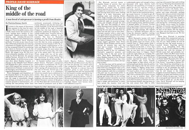 Article Preview: King of the middle of the road, August 1981 | Maclean's