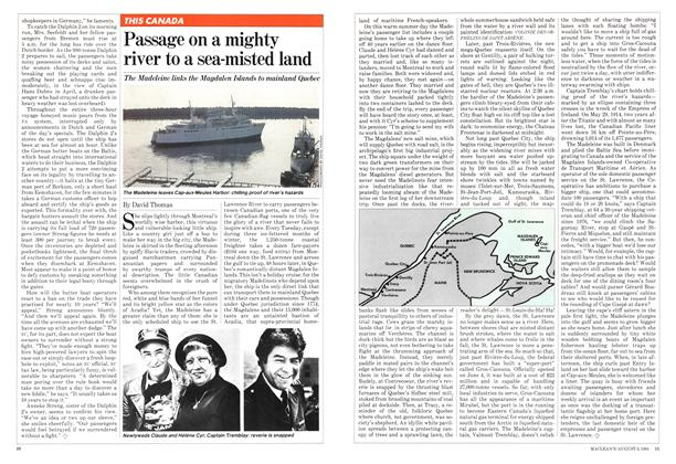 Article Preview: Passage on a mighty river to a sea-misted land, August 1981 | Maclean's