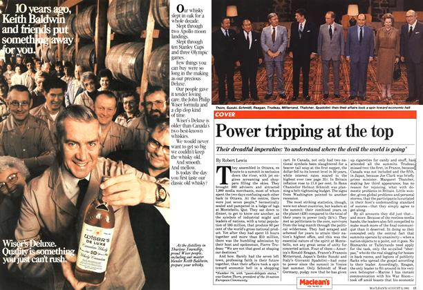 Article Preview: Power tripping at the top, August 1981 | Maclean's