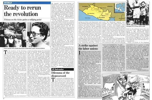 Article Preview: Ready to rerun the revolution, August 1981 | Maclean's