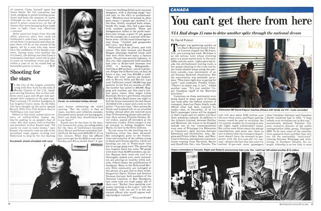 Article Preview: You can't get there from here, August 1981 | Maclean's