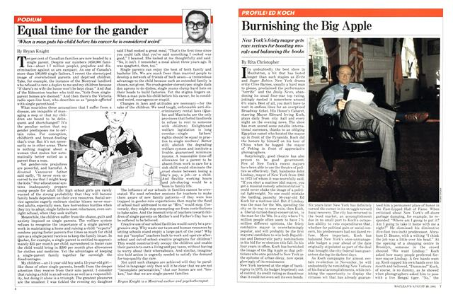 Article Preview: Burnishing the Big Apple, August 1981 | Maclean's