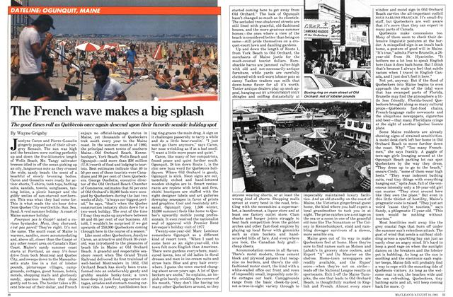 Article Preview: The French wave makes a big splash, August 1981 | Maclean's