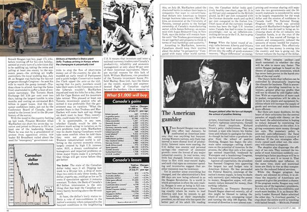 Article Preview: The American gambler, August 1981 | Maclean's