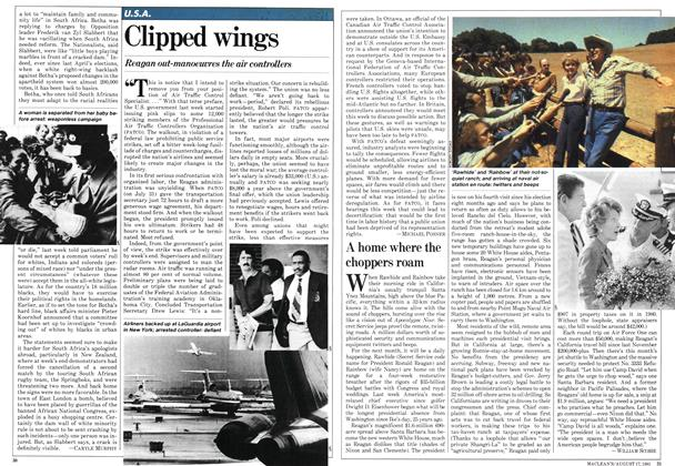 Article Preview: Clipped wings, August 1981 | Maclean's