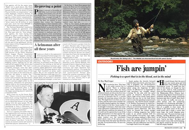 Article Preview: Fish are jumpin', August 1981 | Maclean's