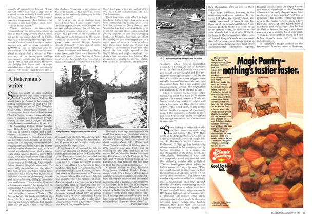 Article Preview: A fisherman's writer, August 1981 | Maclean's