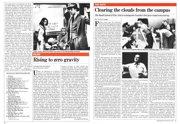 Article Preview: Clearing the clouds from the campus, August 1981 | Maclean's