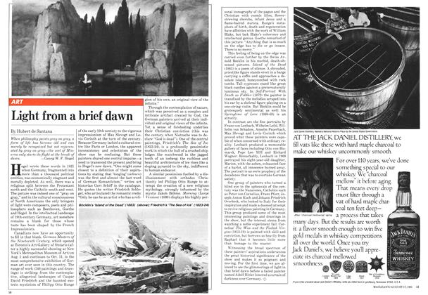 Article Preview: Light from a brief dawn, August 1981 | Maclean's