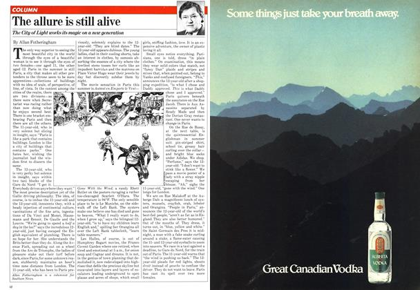 Article Preview: The allure is still alive, August 1981 | Maclean's