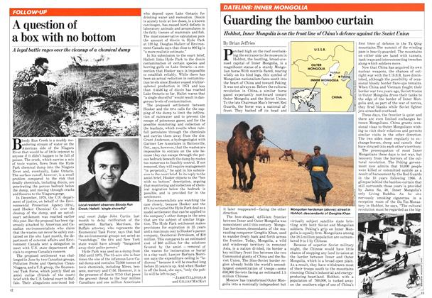 Article Preview: Guarding the bamboo curtain, August 1981 | Maclean's