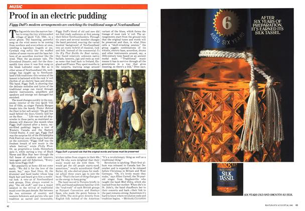 Article Preview: Proof in an electric pudding, August 1981 | Maclean's