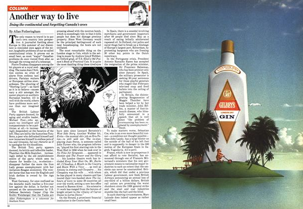 Article Preview: Another way to live, August 1981   Maclean's