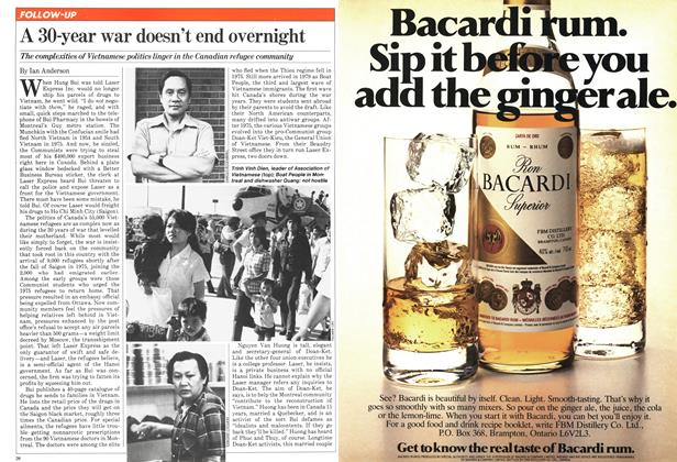 Article Preview: A 30-year war doesn't end overnight, August 1981 | Maclean's