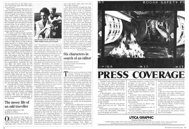 Article Preview: The messy life of an odd traveller, August 1981 | Maclean's
