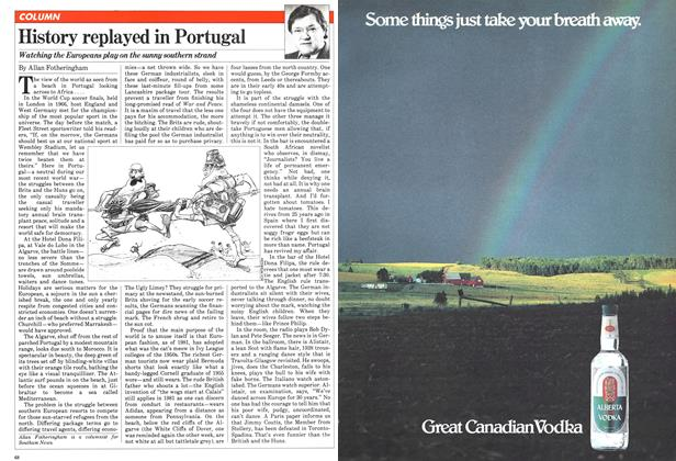 Article Preview: History replayed in Portugal, August 1981 | Maclean's