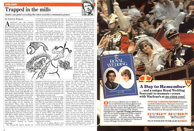 Article Preview: Trapped in the mills, September 1981 | Maclean's