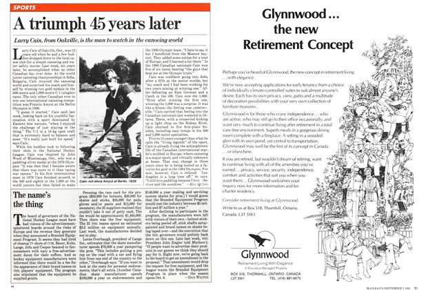 Article Preview: A triumph 45 years later, September 1981 | Maclean's