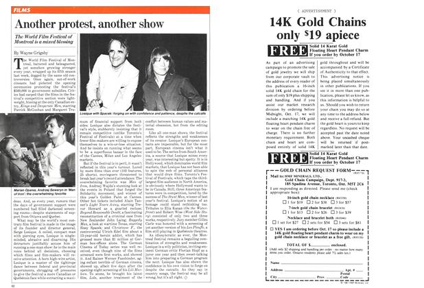Article Preview: Another protest, another show, September 1981 | Maclean's