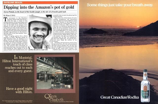 Article Preview: Dipping into the Amazon's pot of gold, SEPTEMBER 14,1981 1981 | Maclean's