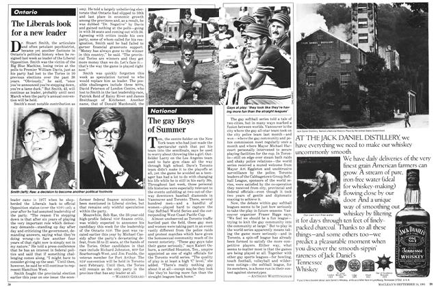 Article Preview: The Liberals look for a new leader, SEPTEMBER 14,1981 1981 | Maclean's