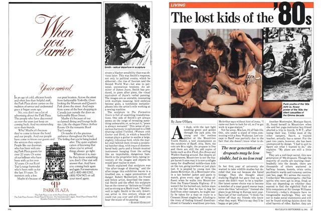 Article Preview: The lost kids of the 80's, SEPTEMBER 14,1981 1981 | Maclean's