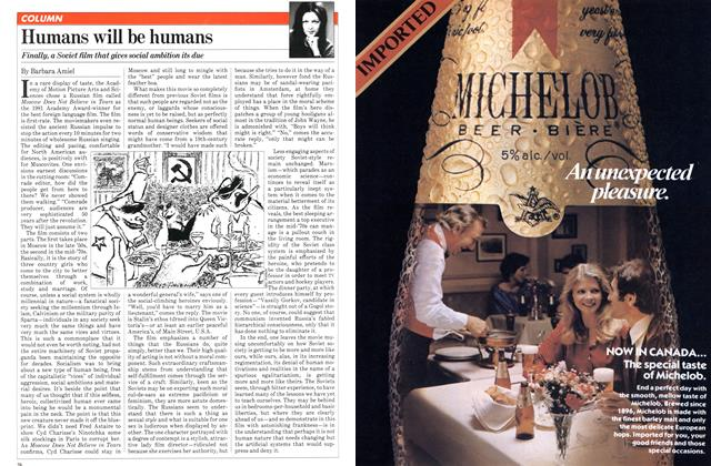 Article Preview: Humans will be humans, SEPTEMBER 14,1981 1981 | Maclean's