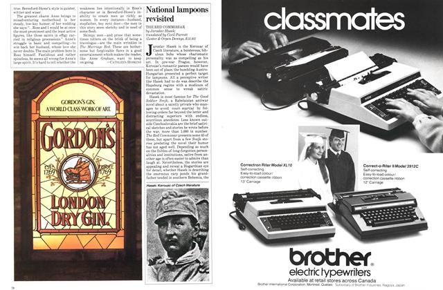 Article Preview: National lampoons revisited, SEPTEMBER 14,1981 1981 | Maclean's