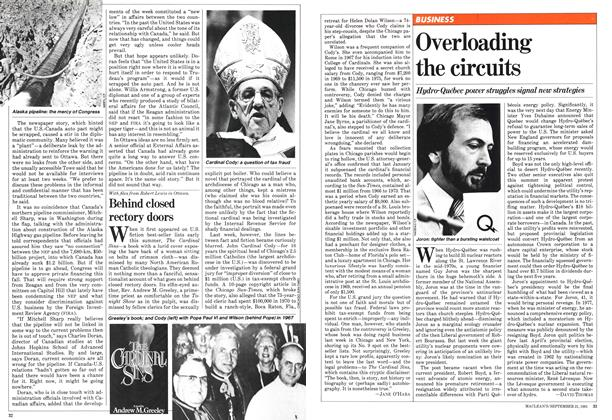 Article Preview: Overloading the circuits, September 1981 | Maclean's