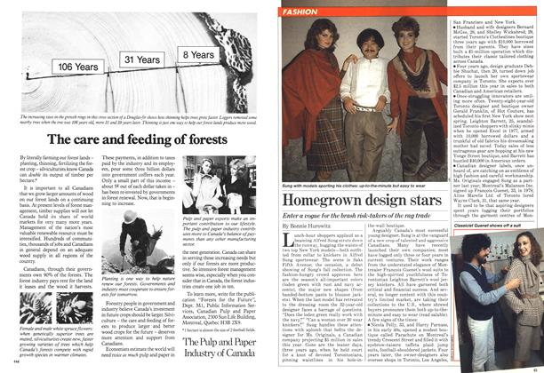 Article Preview: Homegrown design stars, September 1981 | Maclean's
