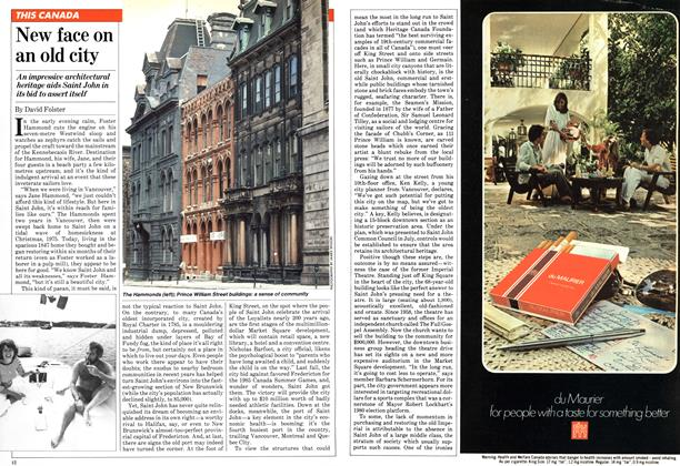 Article Preview: New face on an old city, September 1981 | Maclean's