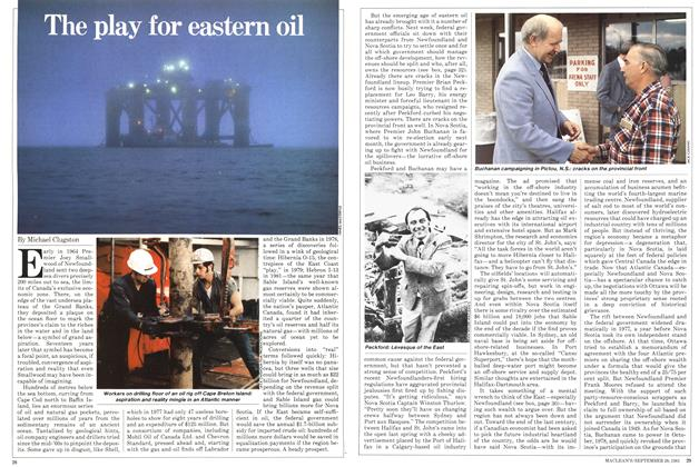 Article Preview: The play for eastern oil, September 1981 | Maclean's