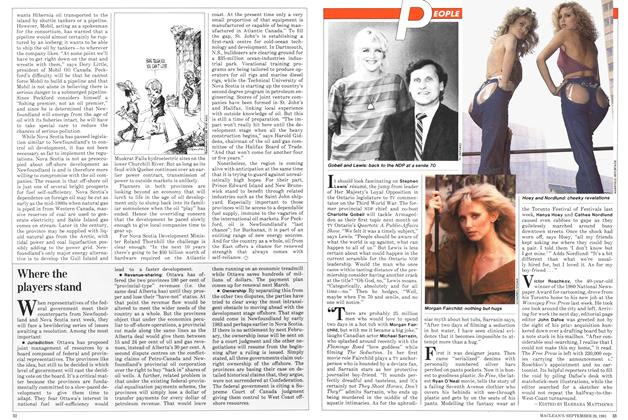 Article Preview: Seduction in hot water, September 1981   Maclean's